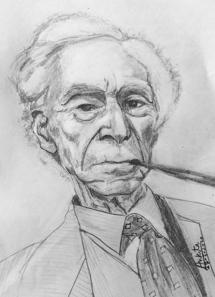 Bertrand Russell par Ankita